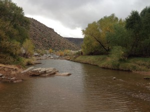 Plenty of water in the Agua Fria
