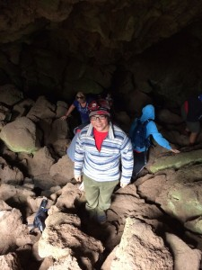 Heading out of the Cave